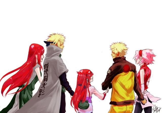 Vui là chính: Nếu Naruto và Sakura về chung một nhà thì con cái họ trông sẽ thế nào? - Ảnh 2.