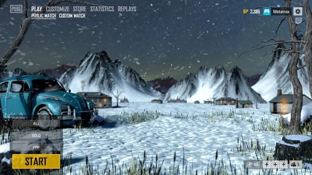 Gần Noel, Blue hole chơi lớn khi đưa giao diện mùa Đông tuyệt đẹp vào PUBG - Ảnh 2.