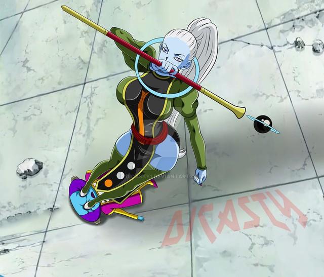 Nóng bỏng mắt bộ fanart khoe trọn thân hình hoàn hảo của nữ thiên sứ Vados trong Dragon Ball Super - Ảnh 11.