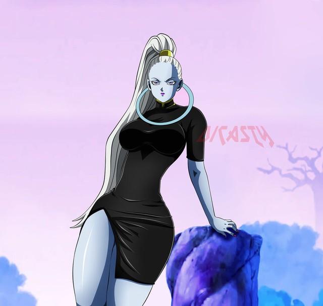 Nóng bỏng mắt bộ fanart khoe trọn thân hình hoàn hảo của nữ thiên sứ Vados trong Dragon Ball Super - Ảnh 12.