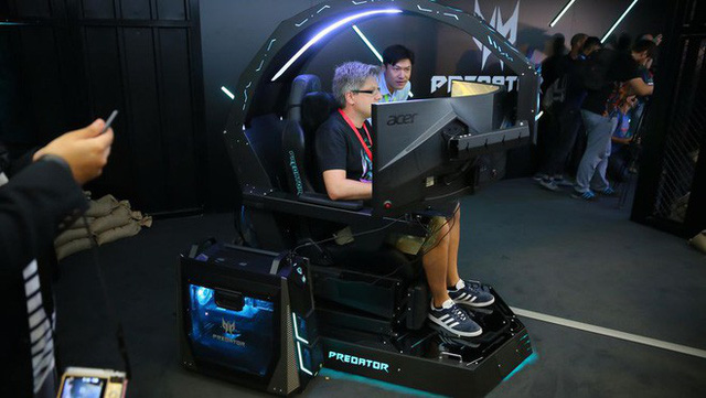 Điên cũng được, nhưng chiếc ghế chơi game Predator Thronos của Acer là thứ mọi game thủ đều muốn - Ảnh 7.