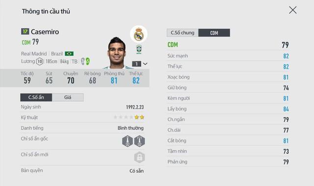 FIFA ONLINE 4: Top 5 tiền vệ phòng ngự ấn tượng đáng mua nhất của mùa 17 - Ảnh 5.