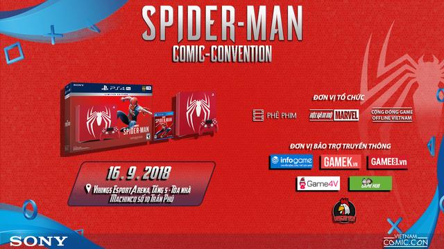 Spider-Man Comic Convention: Nơi game thủ Việt chơi PS4 miễn phí thỏa thích - Ảnh 1.