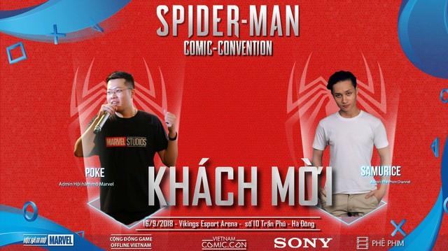 Spider-Man Comic Convention: Nơi game thủ Việt chơi PS4 miễn phí thỏa thích - Ảnh 2.