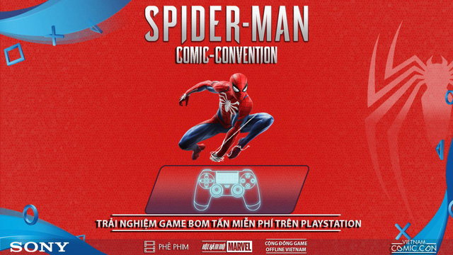 Spider-Man Comic Convention: Nơi game thủ Việt chơi PS4 miễn phí thỏa thích - Ảnh 4.
