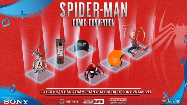 Spider-Man Comic Convention: Nơi game thủ Việt chơi PS4 miễn phí thỏa thích - Ảnh 5.
