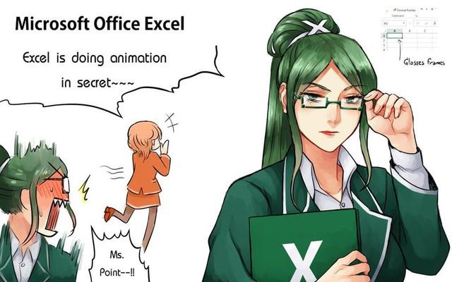 Ngạc nhiên trước những hình ảnh các phần mềm khô khan được nhân cách hóa thành trai xinh gái đẹp trong Anime - Ảnh 1.