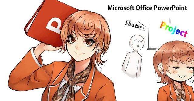 Ngạc nhiên trước những hình ảnh các phần mềm khô khan được nhân cách hóa thành trai xinh gái đẹp trong Anime - Ảnh 7.