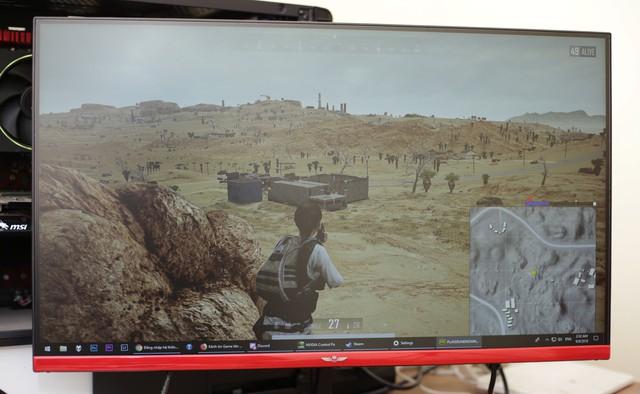 Trải nghiệm KingLight M2559P - Mua màn hình 144 được 165Hz chiến PUBG siêu ngon cho game thủ nhà nghèo - Ảnh 13.