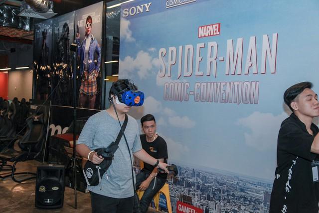 Offline Spider-Man tại Hà Nội: Không những được chơi thử game còn tiết lộ cả loạt phim sắp ra mắt của Marvel - Ảnh 3.