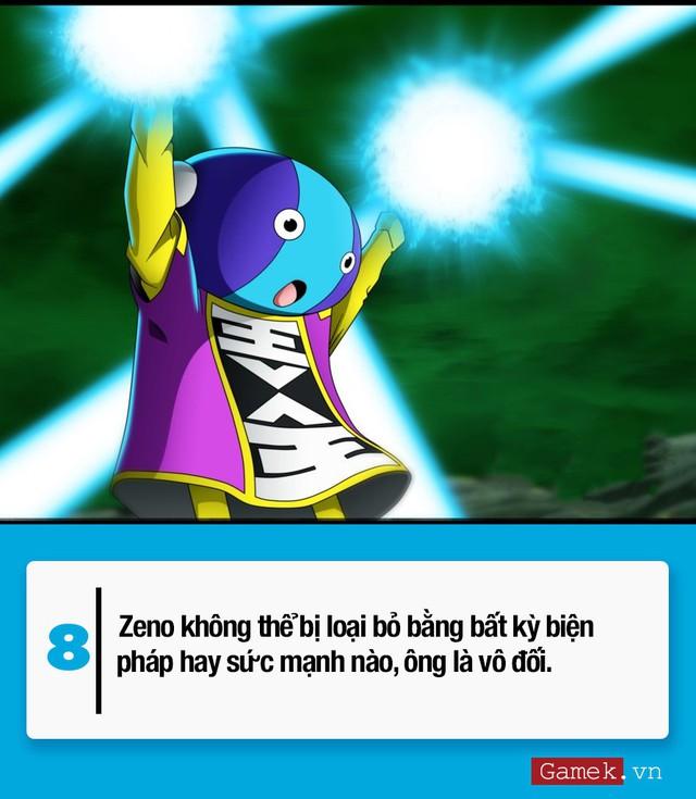 Khám phá 10 điều thú vị xung quanh King Zeno - vị thần tối cao nhất trong Dragon Ball Super - Ảnh 8.