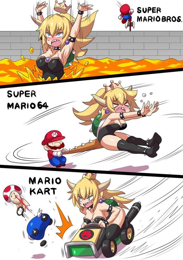 Truyện ngược: Nếu một ngày, trùm cuối Bowser mà trở thành công chúa thì có yêu Mario không? - Ảnh 13.