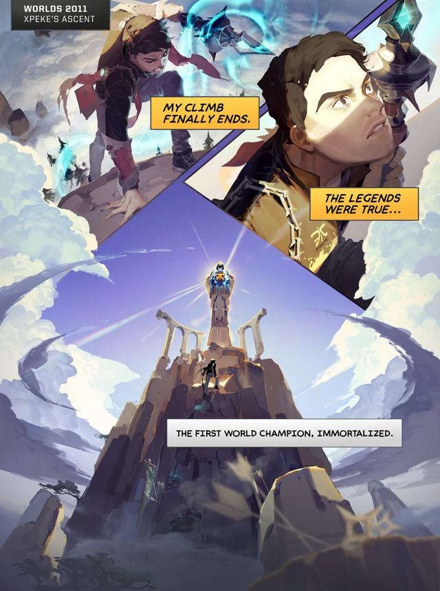Tổng hợp mini-comics cực chất thể hiện những điểm nhấn của các kỳ CKTG: GAM xuất hiện hoành tráng!  - Ảnh 1.