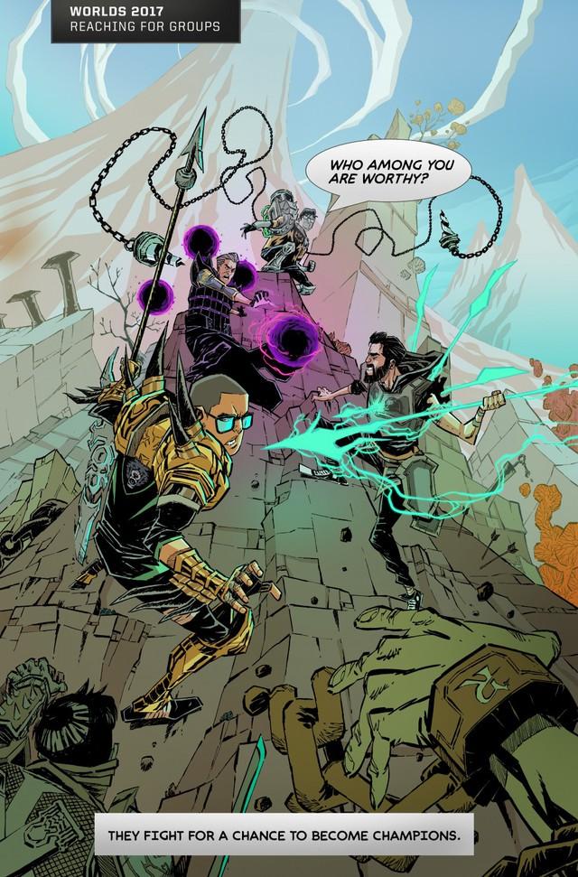 Tổng hợp mini-comics cực chất thể hiện những điểm nhấn của các kỳ CKTG: GAM xuất hiện hoành tráng!  - Ảnh 4.