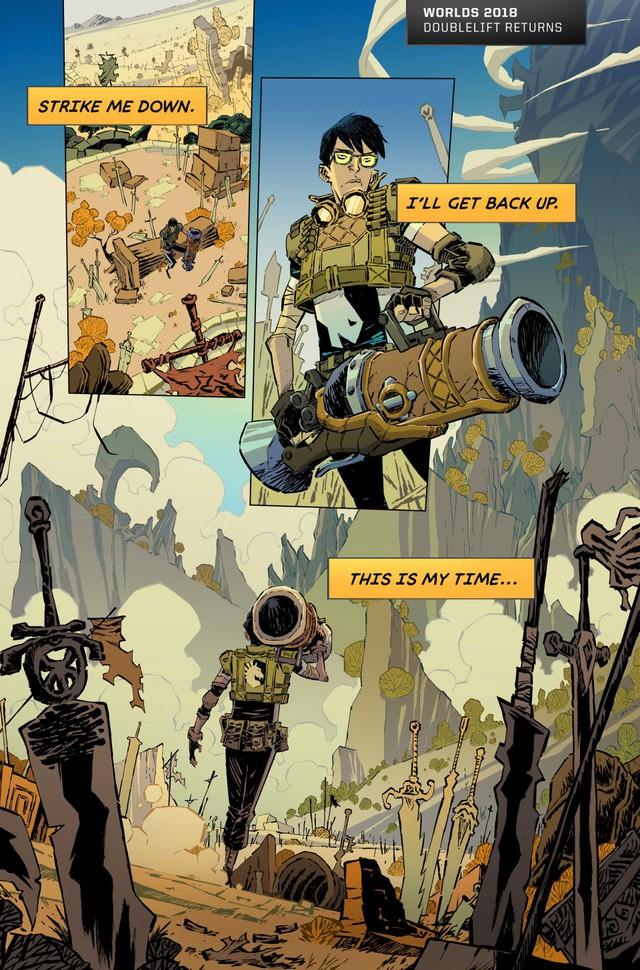 Tổng hợp mini-comics cực chất thể hiện những điểm nhấn của các kỳ CKTG: GAM xuất hiện hoành tráng!  - Ảnh 5.