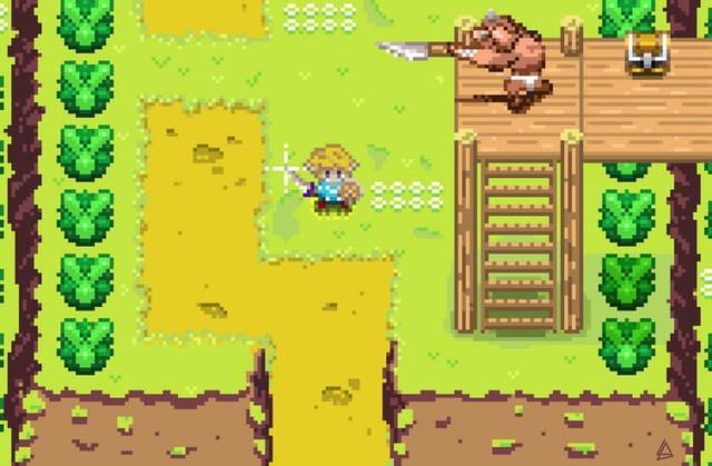 Ngắm loạt ảnh các trò chơi điện tử hiện đại được remake thành điện tử băng đầy ấn tượng - Ảnh 14.