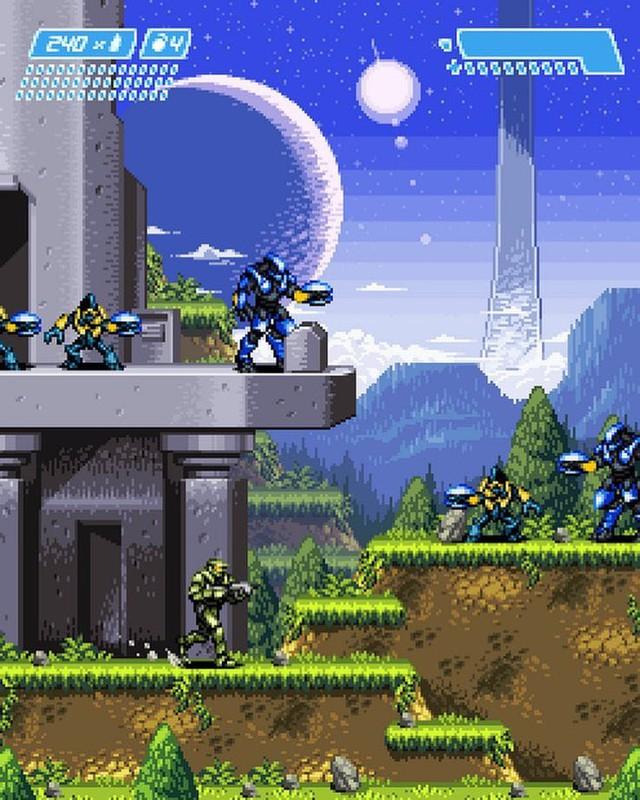 Ngắm loạt ảnh các trò chơi điện tử hiện đại được remake thành điện tử băng đầy ấn tượng - Ảnh 5.