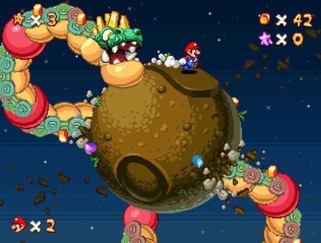 Ngắm loạt ảnh các trò chơi điện tử hiện đại được remake thành điện tử băng đầy ấn tượng - Ảnh 2.