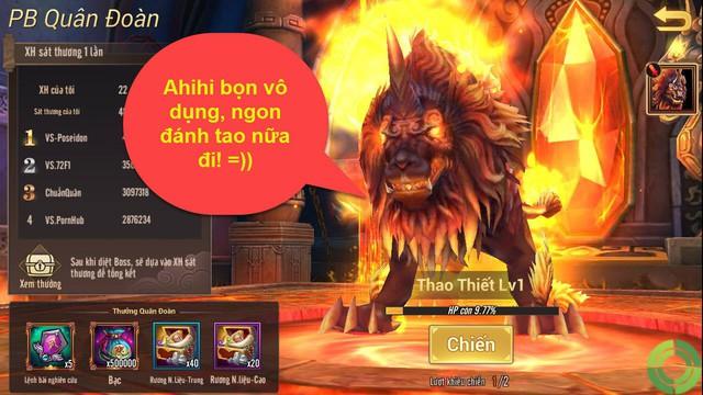 """Game thủ Võ Thần Vô Song bức xúc vì Boss bang Level 1 mà """"trâu chó"""" đánh 3 ngày 3 đêm không chết - Ảnh 2."""