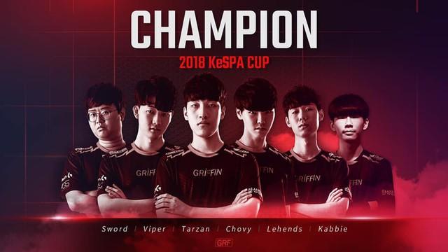 LMHT: Vừa vô địch KeSPA Cup 2018, tuyển thủ Đường giữa của Griffin tiếp tục đặt mục tiêu soán ngôi Faker, trở thành người chơi số 1 thế giới - Ảnh 1.