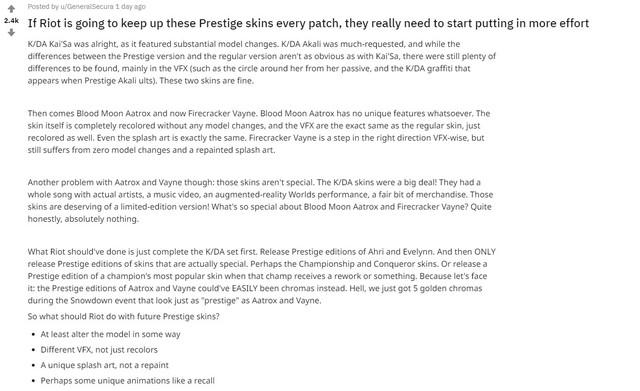 LMHT: Coi Vayne Hàng Hiệu như một sự xúc phạm, Riot Games bị game thủ chỉ trích nặng nề vì lý do làm trang phục quá cẩu thả - Ảnh 6.