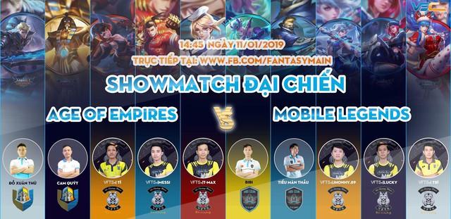 Sao AOE Việt và VEC Fantasy Main đại chiến Show Match Mobile Legends - Ảnh 3.