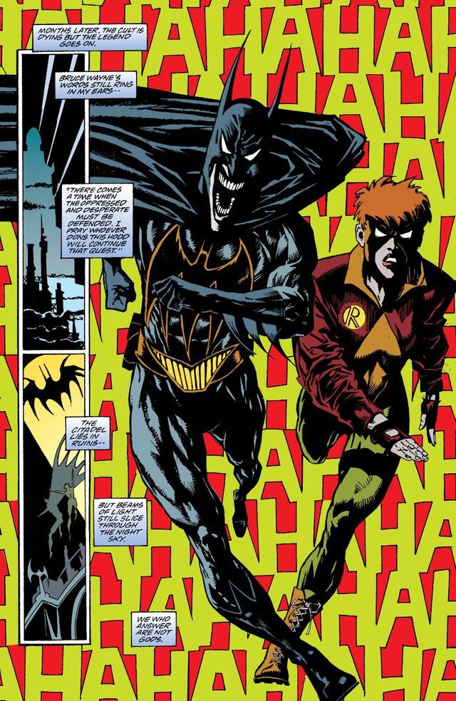 10 phiên bản đen tối và đáng sợ nhất của Batman từng xuất hiện trong truyện tranh - Ảnh 6.