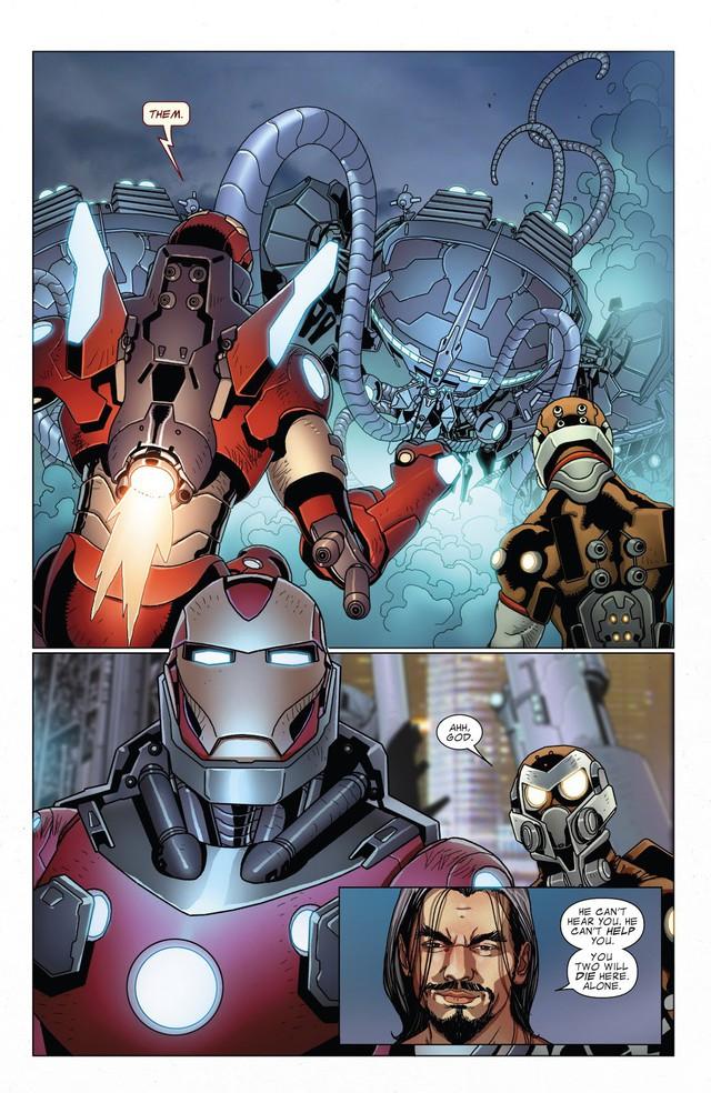 Top 10 món đồ chơi công nghệ siêu khủng mà Iron man từng chế tạo trong comic - Ảnh 2.