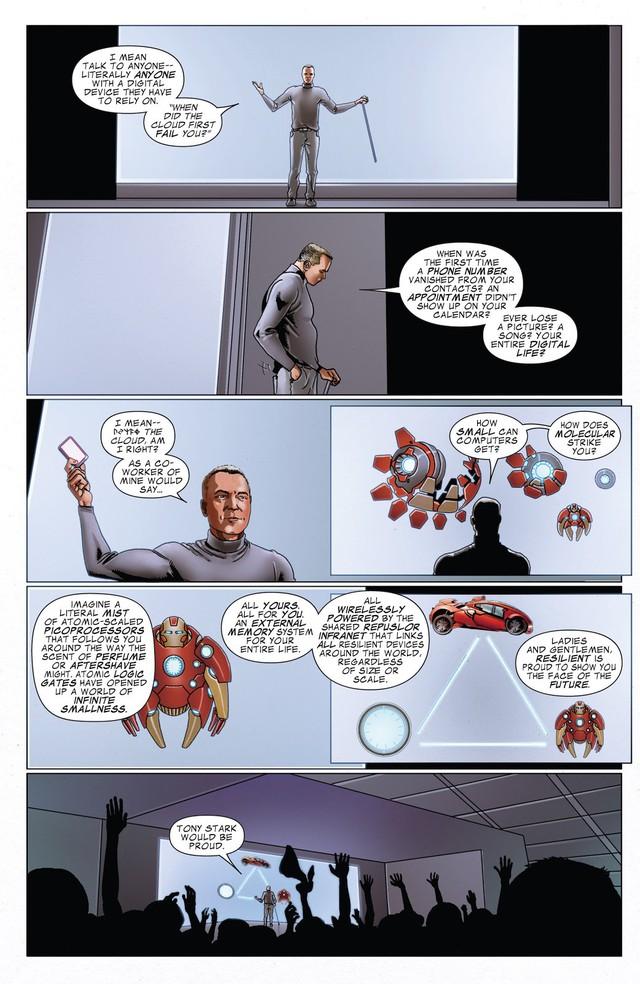 Top 10 món đồ chơi công nghệ siêu khủng mà Iron man từng chế tạo trong comic - Ảnh 3.