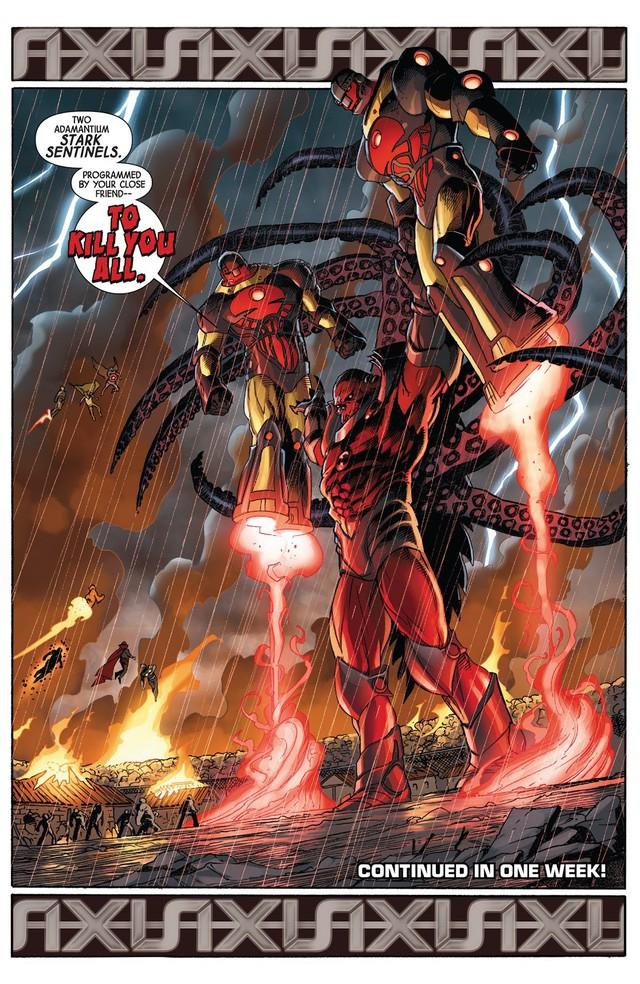 Top 10 món đồ chơi công nghệ siêu khủng mà Iron man từng chế tạo trong comic - Ảnh 4.