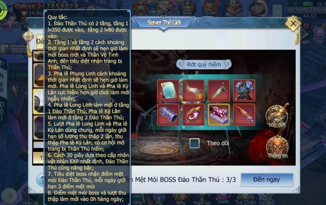 """Tam Sinh Tam Thế: Game đã """"ít"""" drama rồi mà giờ còn update thêm cả… cướp Boss liên server, sống sao đây? - Ảnh 5."""