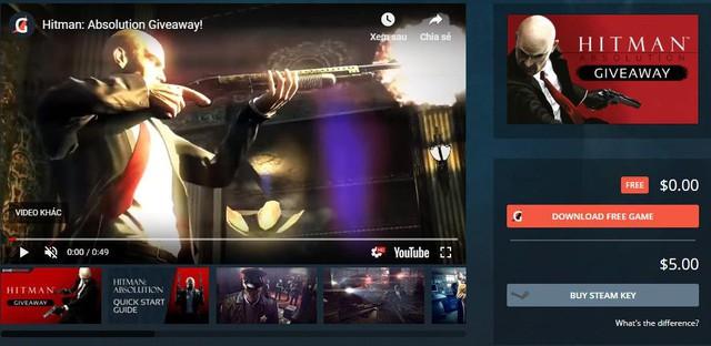 Hãy nhanh tay lên, game đỉnh cao Hitman: Absolution đang phát tặng miễn phí 100% - Ảnh 1.