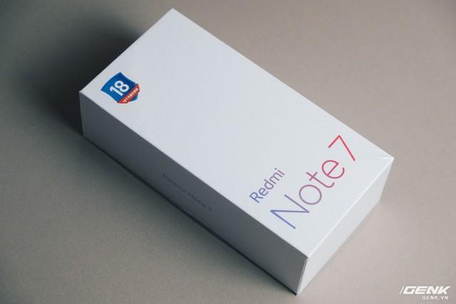 Trên tay Redmi Note 7: Màn hình giọt nước, Snapdragon 660, camera 48MP, kháng nước, USB-C, giá từ 4 triệu đồng - Ảnh 1.