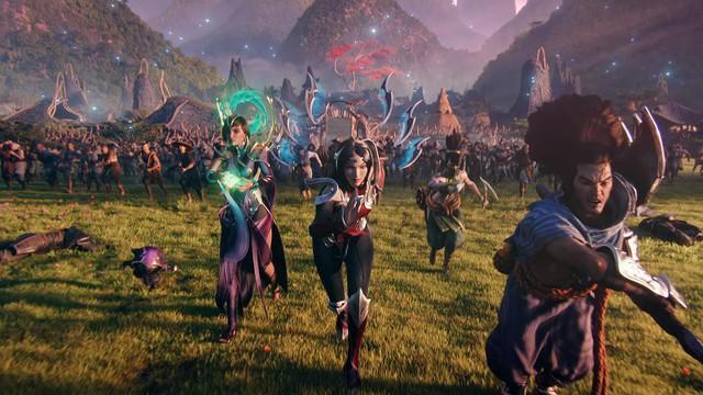 LMHT: Cộng đồng game thủ phấn khích sau MV mới Awaken, thiết tha mong Riot dựng phim về Noxus và Ionia - Ảnh 2.
