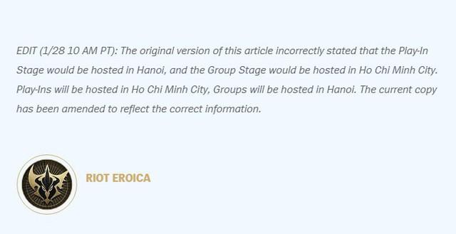 LMHT: MSI 2019 thay đổi địa điểm thi đấu, game thủ Việt nên góp lúa dần đi là vừa vì giá vé có vẻ không rẻ - Ảnh 1.