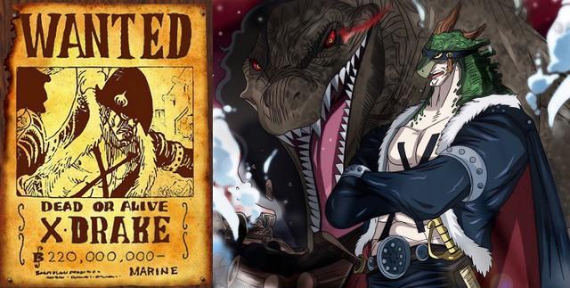 One Piece: 10 thông tin thú vị xung quanh X-Drake, Siêu tân tinh Khủng long dưới trướng Kaido - Ảnh 6.