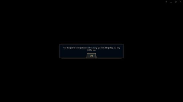 LMHT Việt Nam bất ngờ gặp sự cố không thể truy cập - Game thủ kêu trời khi ngay cả trang chủ cũng mất tích luôn - Ảnh 2.