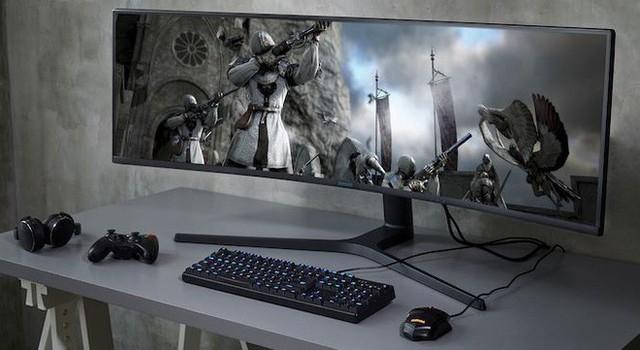 Samsung ra mắt màn hình chơi game CRG9 to khổng lồ mới: 49 inch cong, 120Hz, độ phân giải 5K mịn màng - Ảnh 3.