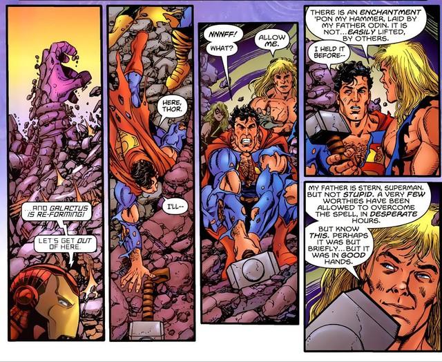 Không cần phải là Thor, chỉ cần biết 7 cách này bạn cũng có thể nâng được Búa Thần Mjolnir một cách dễ dàng - Ảnh 6.