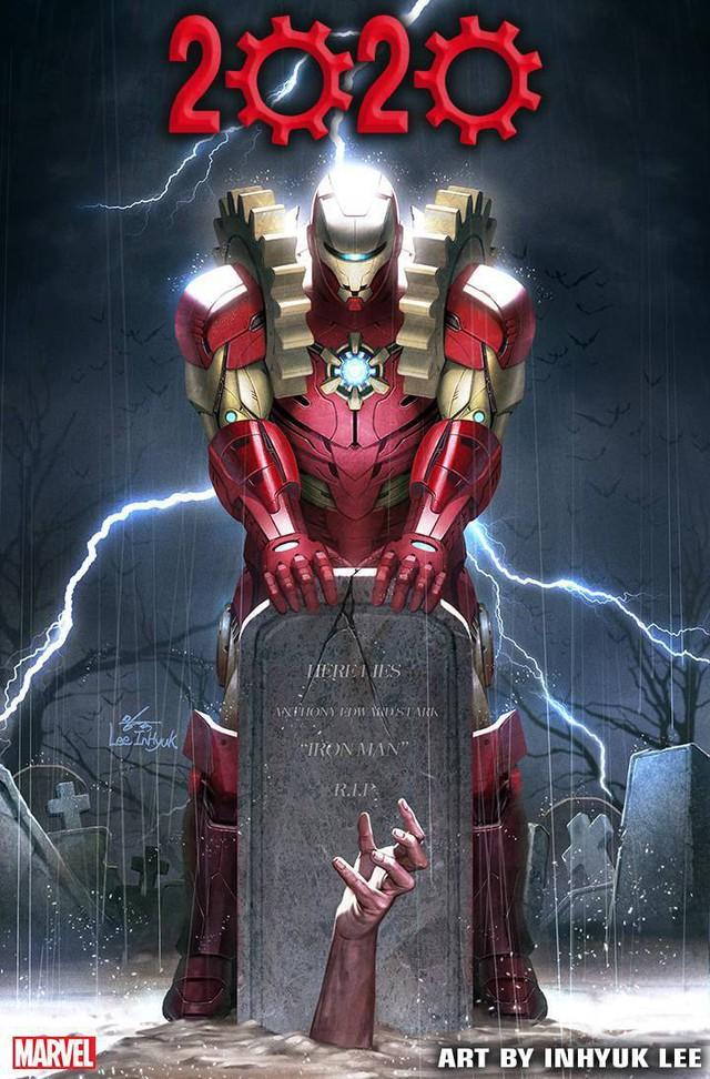 Arno Stark cùng bộ giáp God-Killer sẽ... thay thế Iron Man Tony Stark trong truyện tranh? - Ảnh 8.
