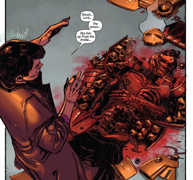 Arno Stark cùng bộ giáp God-Killer sẽ... thay thế Iron Man Tony Stark trong truyện tranh? - Ảnh 2.