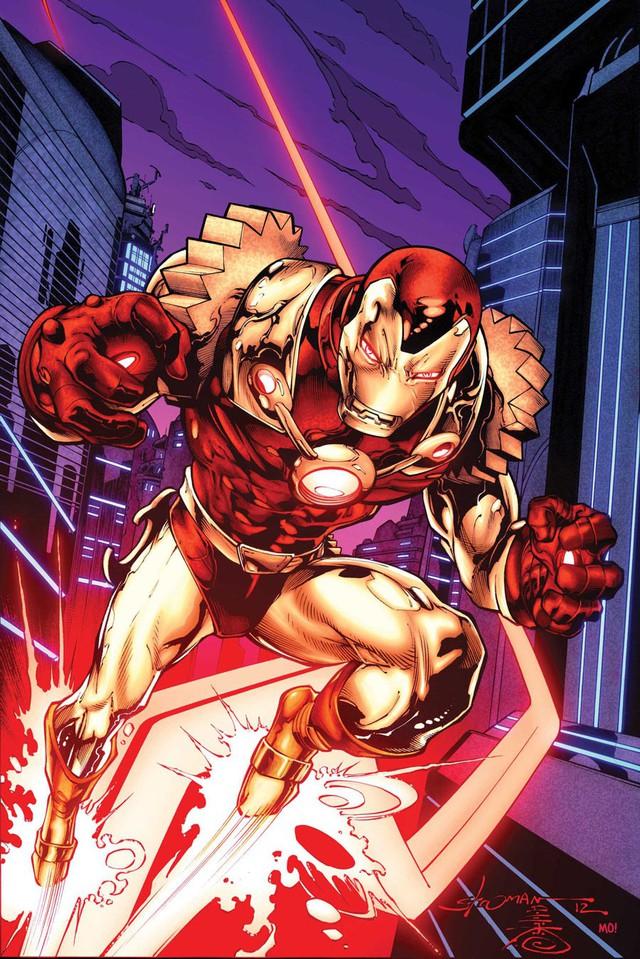 Arno Stark cùng bộ giáp God-Killer sẽ... thay thế Iron Man Tony Stark trong truyện tranh? - Ảnh 1.