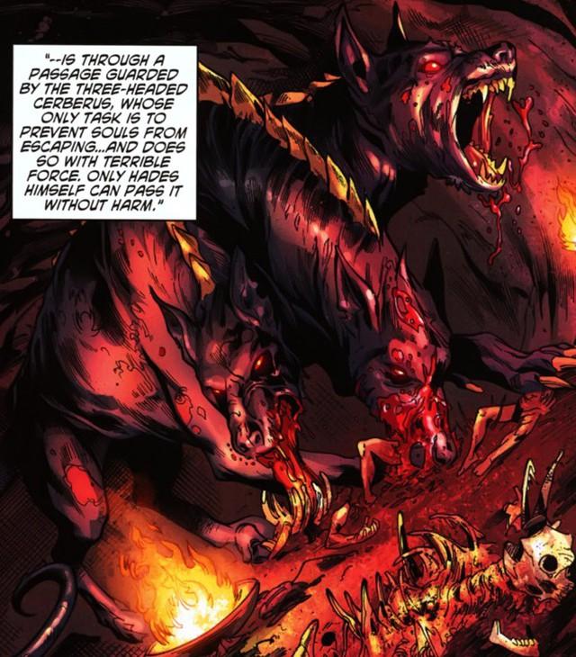 Trong vũ trụ DC, Cerberus - chó 3 đầu canh cửa Địa Ngục là con quái vật như thế nào? - Ảnh 3.