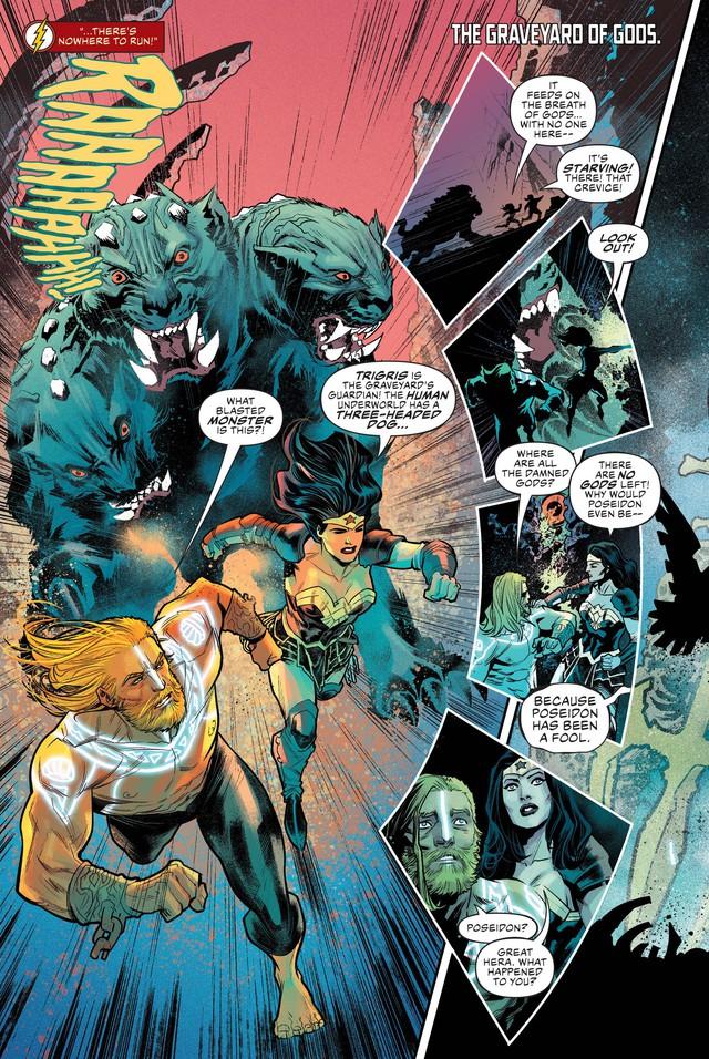 Trong vũ trụ DC, Cerberus - chó 3 đầu canh cửa Địa Ngục là con quái vật như thế nào? - Ảnh 9.