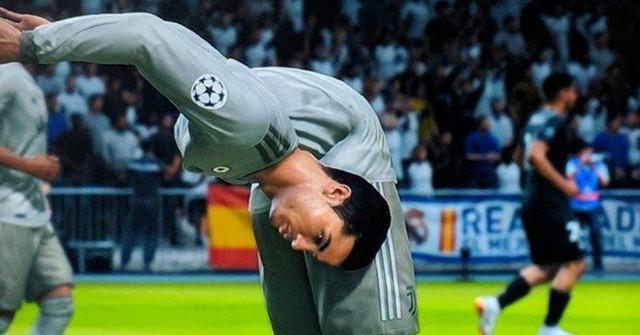 Chết cười với những lỗi hình ảnh hài hước trong FIFA - Ảnh 1.