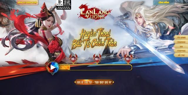 Lan Lăng Vương Mobile ra mắt trang chủ, MMORPG hấp dẫn trong tháng 10 - Ảnh 1.