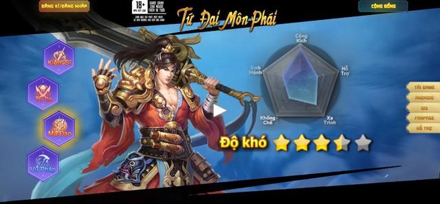 Lan Lăng Vương Mobile ra mắt trang chủ, MMORPG hấp dẫn trong tháng 10 - Ảnh 3.