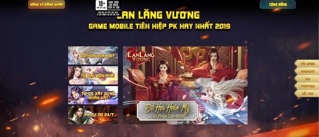 Lan Lăng Vương Mobile ra mắt trang chủ, MMORPG hấp dẫn trong tháng 10 - Ảnh 4.