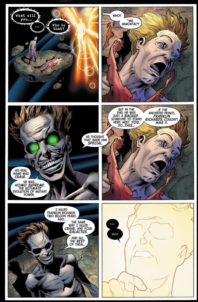 Soán ngôi Galactus, Immortal Hulk trở thành kẻ sống sót cuối cùng trong vũ trụ Marvel tương lai - Ảnh 3.