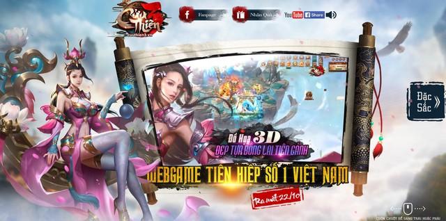 Hàng hiếm làng game Việt Cửu Thiên 3 chính thức ra mắt 22/10 - Ảnh 1.